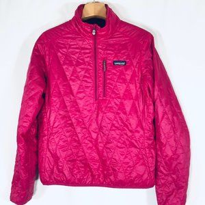 Patagonia Nano Puff Jacket pull over L Pink
